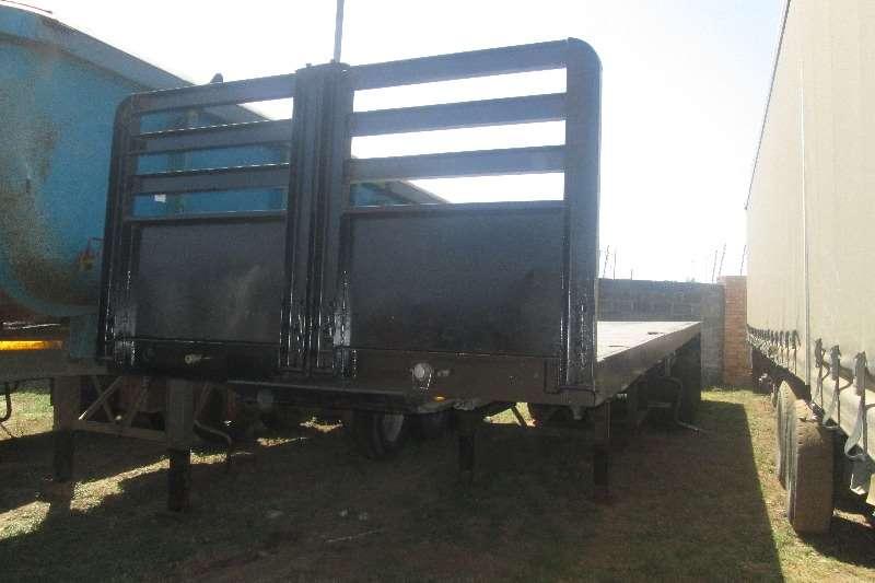 Henred Flat deck 12m semi trailer Trailers