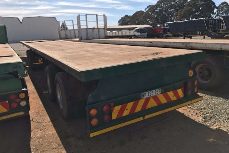 Henred Flat deck Superlink Flatdeck Trailer Trailers
