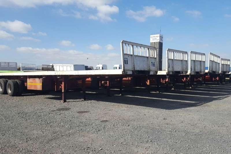 Trailers Henred Flat Deck Used 12m Tri Axle Trailers Available 2010