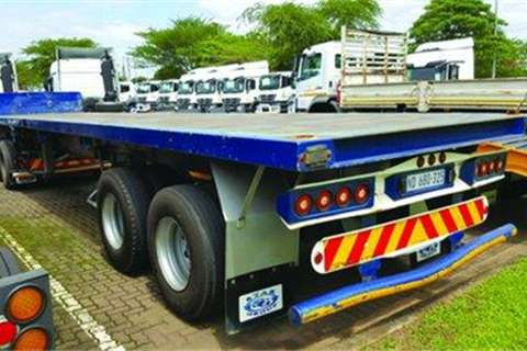 Trailers Henred Flatdeck Superlink Trailer- 2008