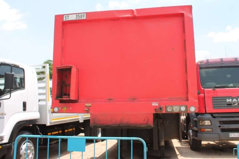 Trailers Henred Fruehauf 16 Pallet Well Deck 1990