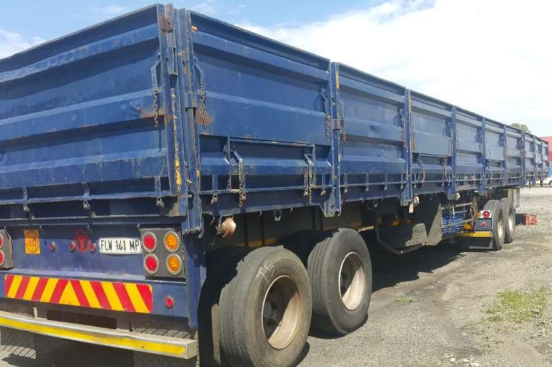 Trailers Henred Henred superlink 6+12m with 1.2m sides 2003
