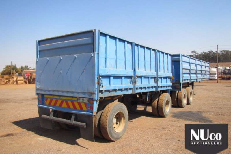 Henred High sides HENRED DOUBLE AXLE HIGH DROPSIDE TRAILER Trailers