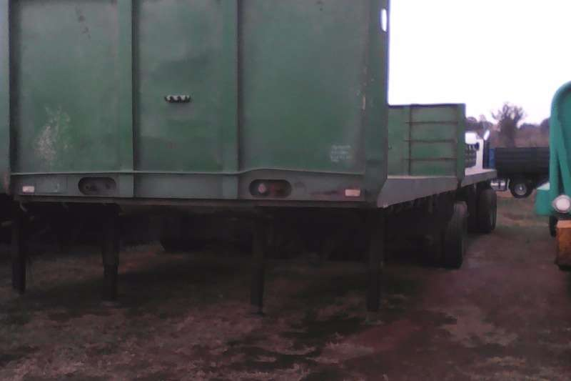 Trailers Henred Interlink Interlink Flatdeck Trailer 1994
