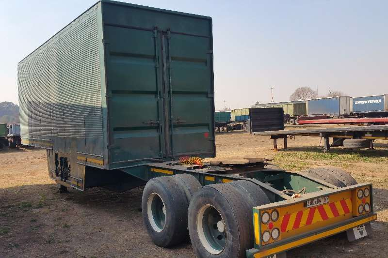 Henred Pantech Pantech 8.4mt front link only Trailers