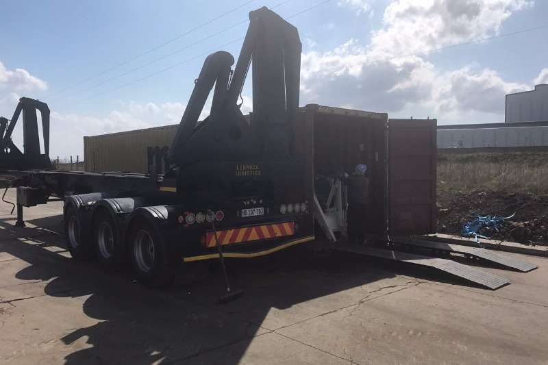 Trailers Henred SIDELIFT CONTAINER TRAILER 2007