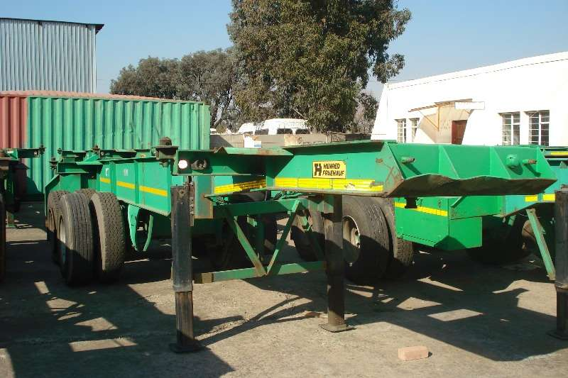 Henred Skeletal Used 6m Double Axle Trailers Available Trailers