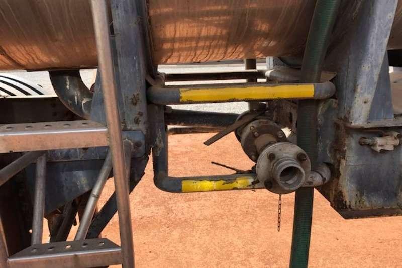 Henred Stainless steel tank 1 x Interlink Acid Tanker Trailer Trailers