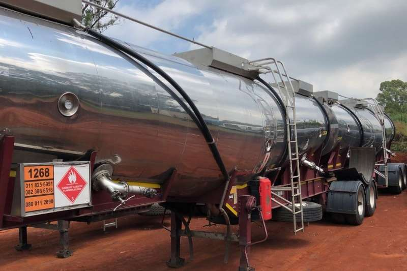 Henred Stainless steel tank Used 44 000LT Interlink 316 S/S Tank Available Trailers