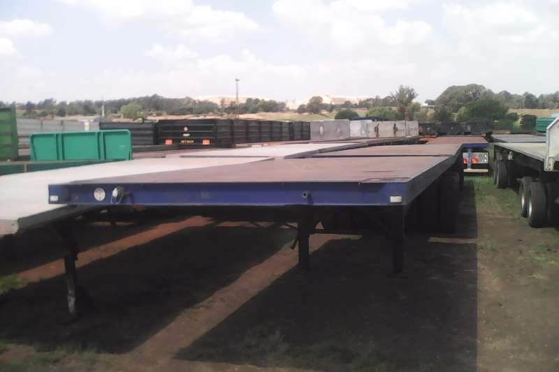 Trailers Homebuilt Flat Deck Superlink Flatdeck 2001