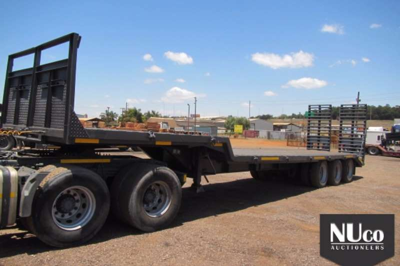 Homebuilt HOME BUILT SEMI STEPDECK LOWBED WITH RAMPS Trailers