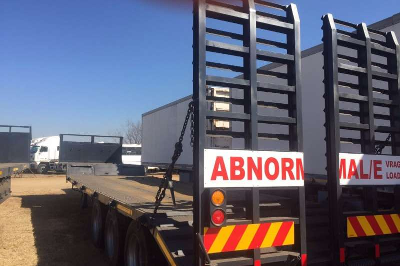 Trailers Homebuilt Tri Axle Step Deck 0