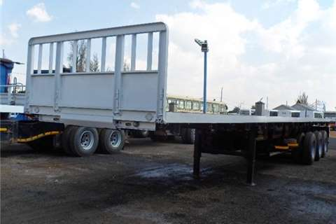 HPC Flat deck 2016 NEW TRY AXLE 15M F/D Trailers