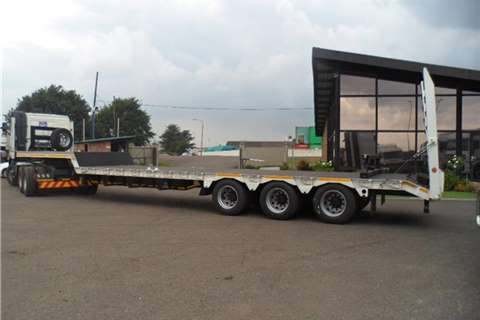 HPC Lowbed NEW TRY ALXE STEP DECK LOWB Trailers