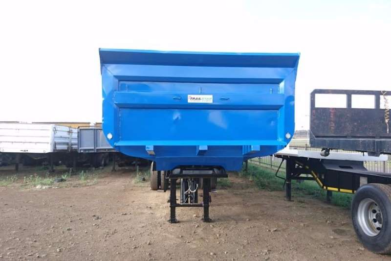 Inline End tipping Copelyn Trailers