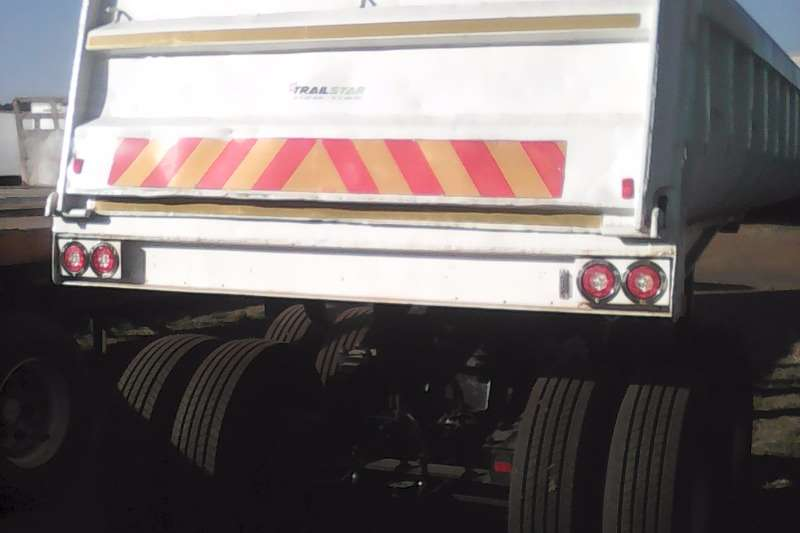 Inline End tipping Copelyn end tipper Trailers