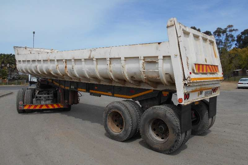 Inline End tipping Inline 20Kub Tipper Trailers