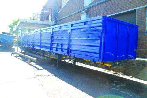Kearneys 4 in one Side Tipper- Trailers