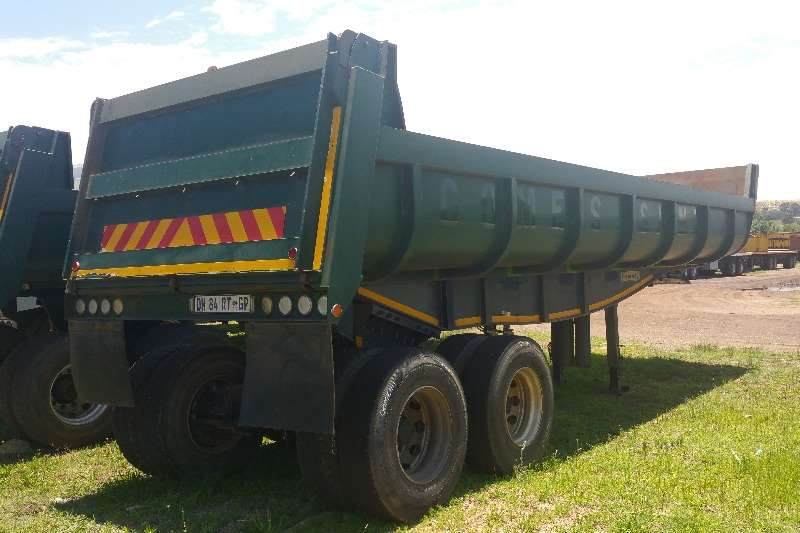 Kearneys End tipping Copelyn End tipper 20m3 Trailers