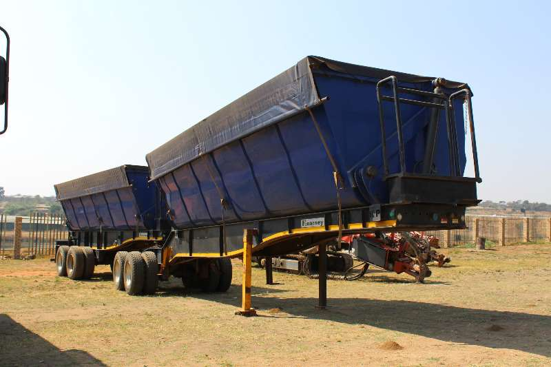 Kearneys Side tipper Kearneys side tipper super link Trailers