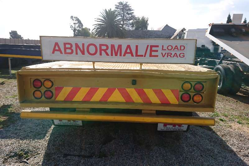 Trailers Lowbed 4 Axle Folding Goose Neck Lowbed 2008