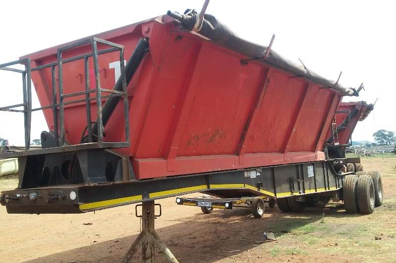 Trailers Martin Side Tipper Used Martin 40 Cube Side Tipper Link Available 2011