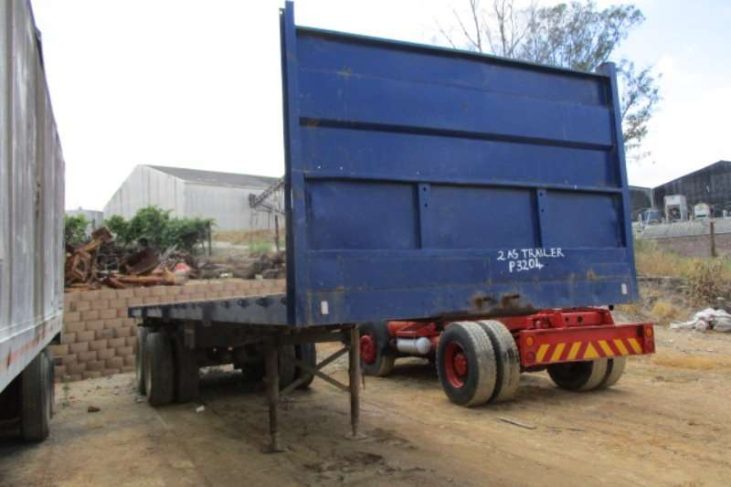 Master Double axle Trailers