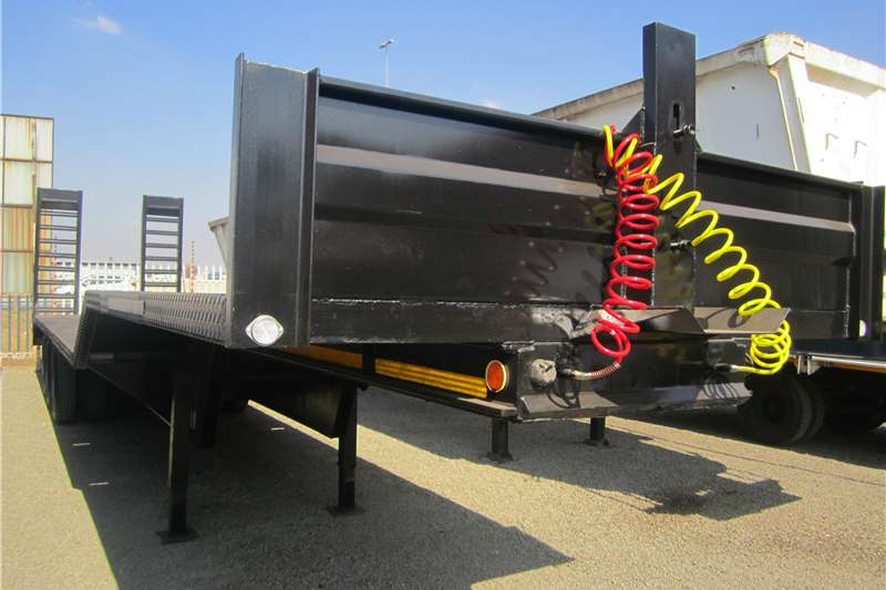 Master Tri axle step deck Trailers