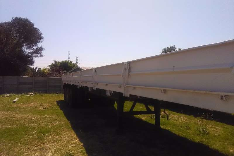 Mele High sides drop side tri axle trailer Trailers
