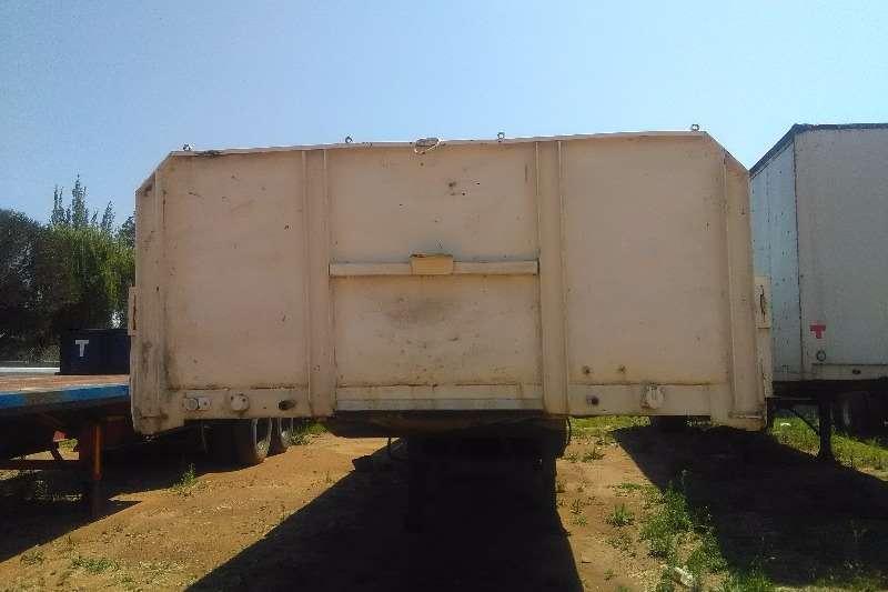 Mele High sides dropside tri-axle trailer Trailers