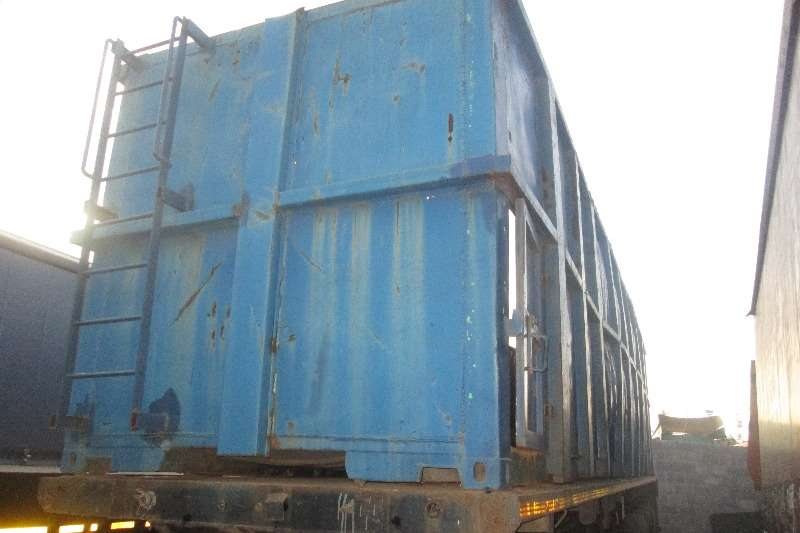 Mele Skeletal 12m Skeletal with 12m Container Trailers
