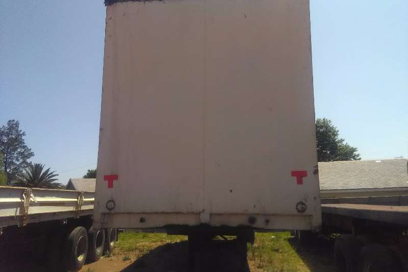 Other Close body double axle closed body trailer Trailers