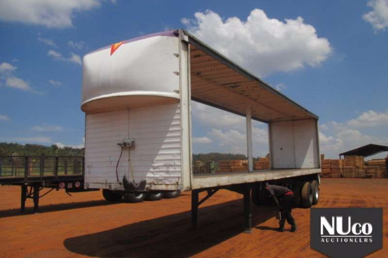 Other Curtain side MOREWEAR DOUBLE AXLE TAUTLINER Trailers