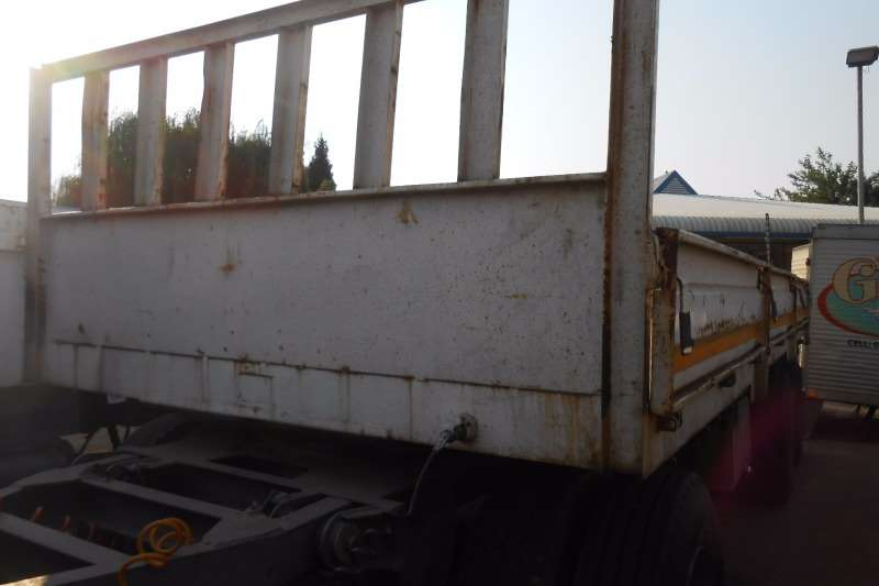 Trailers Other Drawbar BURG DRAWBAR TRAILER 2004