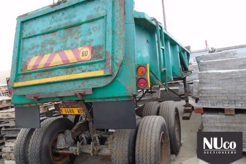 Other End tipping DOUBLE AXLE END TIP TRAILER Trailers