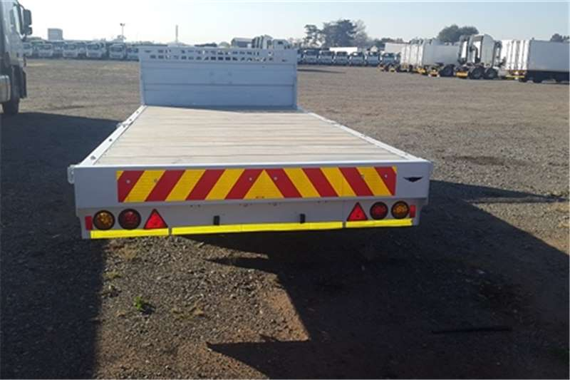 Other Flat deck Jurgens UT350 double axel Trailers