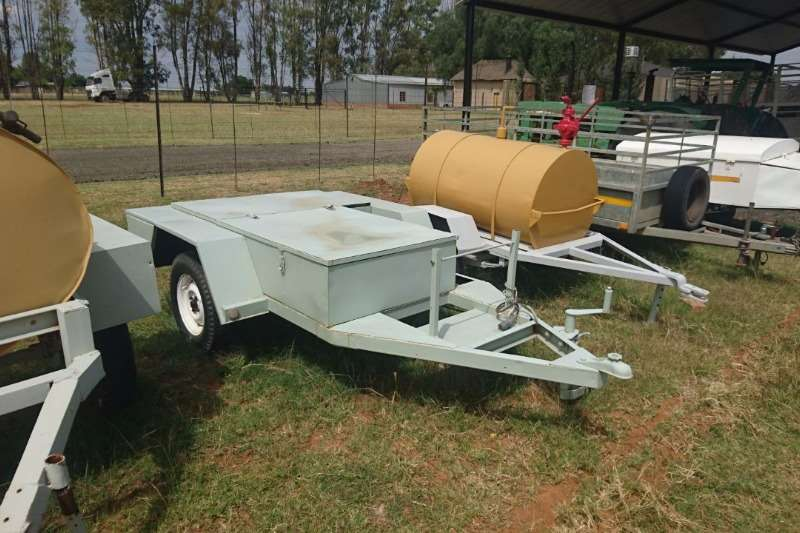 Trailers Other Flat Trailer with storage 0