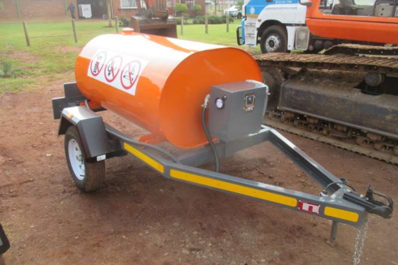 Trailers Other Fuel Tanker Single Axle 1,000L Diesel Bowser with Pump 2017