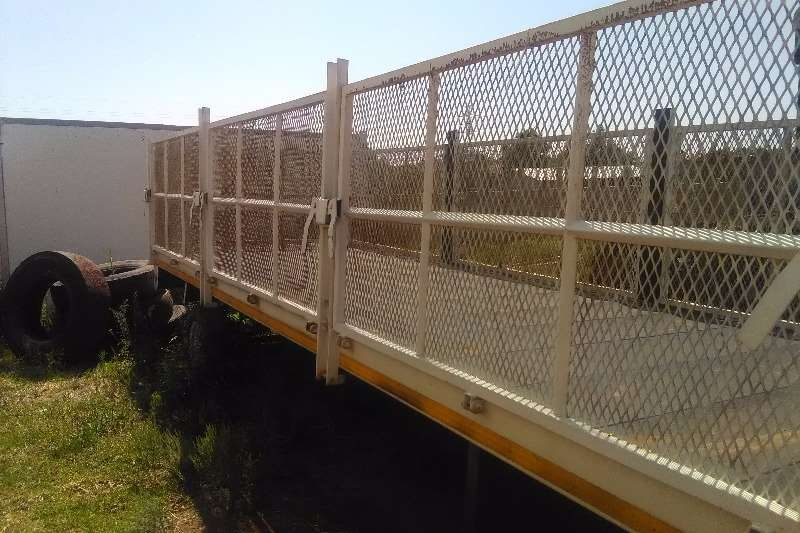 Other High sides 6m high drop side poni trailer Trailers