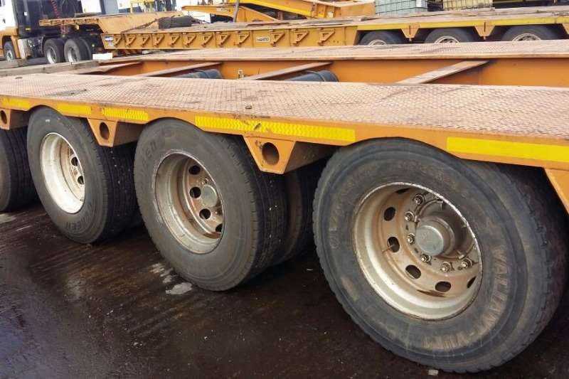 Other Lowbed Various Used 4 Axle Lowbed Trailers Available Trailers