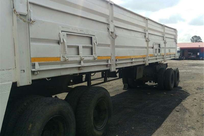 Other Mass side 12.2 m Dropside 1.2 m Trailers