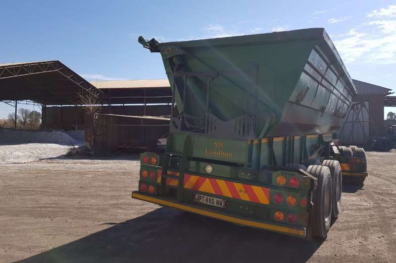 Other Side tipper 40m³ Toro Truck Bodies Side Tipper Trailers