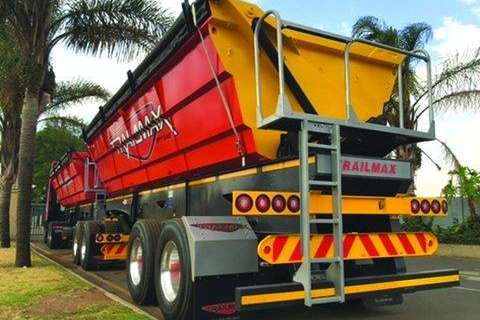 Other Side tipper Trailmax 40 Cube Side Tipper Link- Trailers