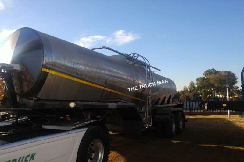 Other Stainless steel tank FLEXI STAINLESS STEEL MILK TANK Trailers
