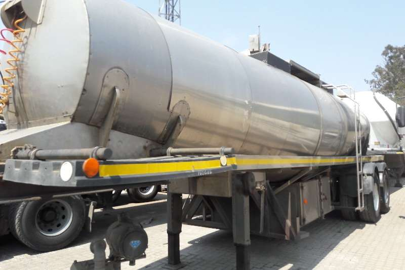 Other Stainless steel tank Used Food Grade 16 000LT 304 S/S Tanker Available Trailers