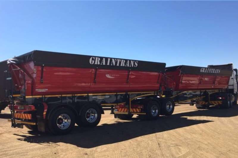 Other Tipping bulk trailer Trailord 50m³ Side Tipper link Other Trailers
