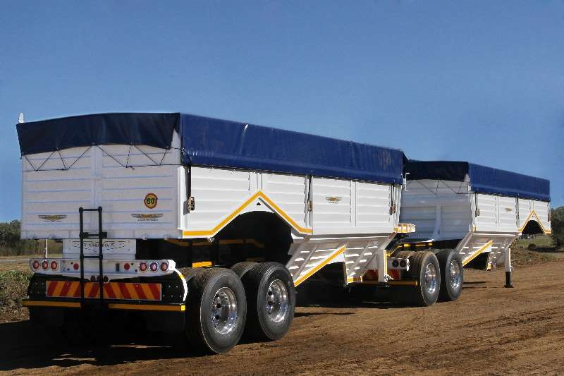 Other Tipping bulk trailer Trailord Grainlink 54m³ Other Trailers