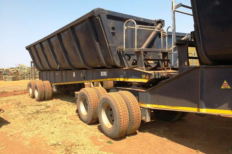 Other TOP TRAILER 36TON SIDE TIPPER Trailers