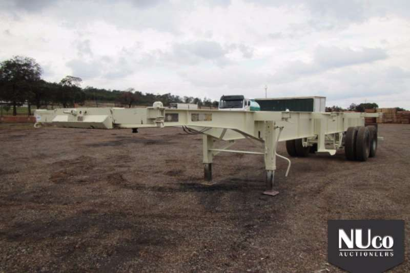 Other TRANSWERK SKELETAL CONTAINER TRAILER Trailers