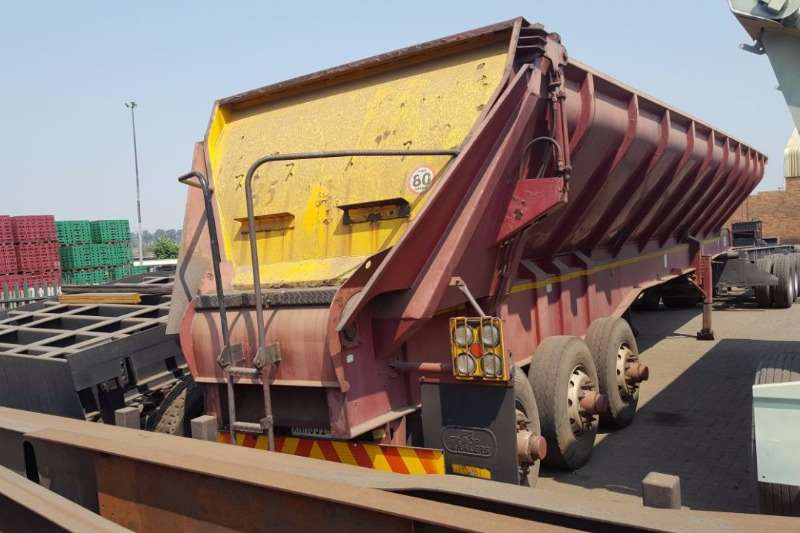 Other Tri-Axle 2008 TRIAXLE (TOP TRAILER) WALKING FLOOR Trailers